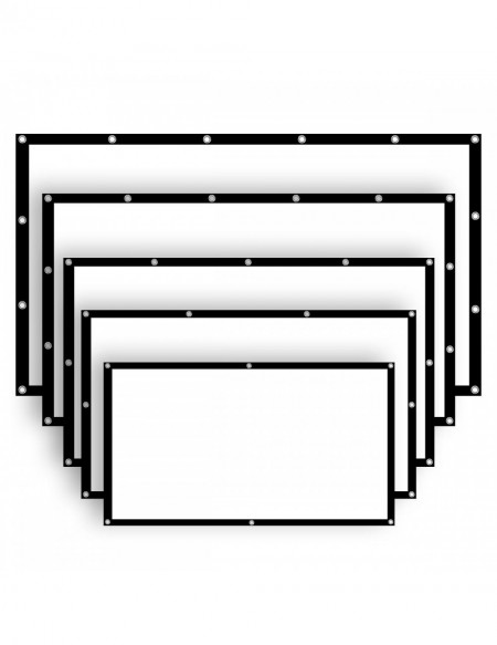 Ecran VISUAL EXPERIENCE Fixed Frame 16:9 Long Throw REFERENCE WHITE